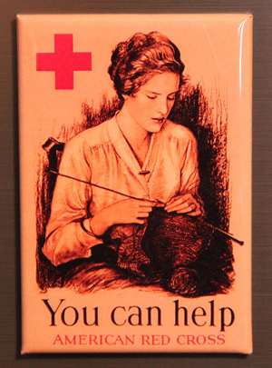 you can help american red cross magnet